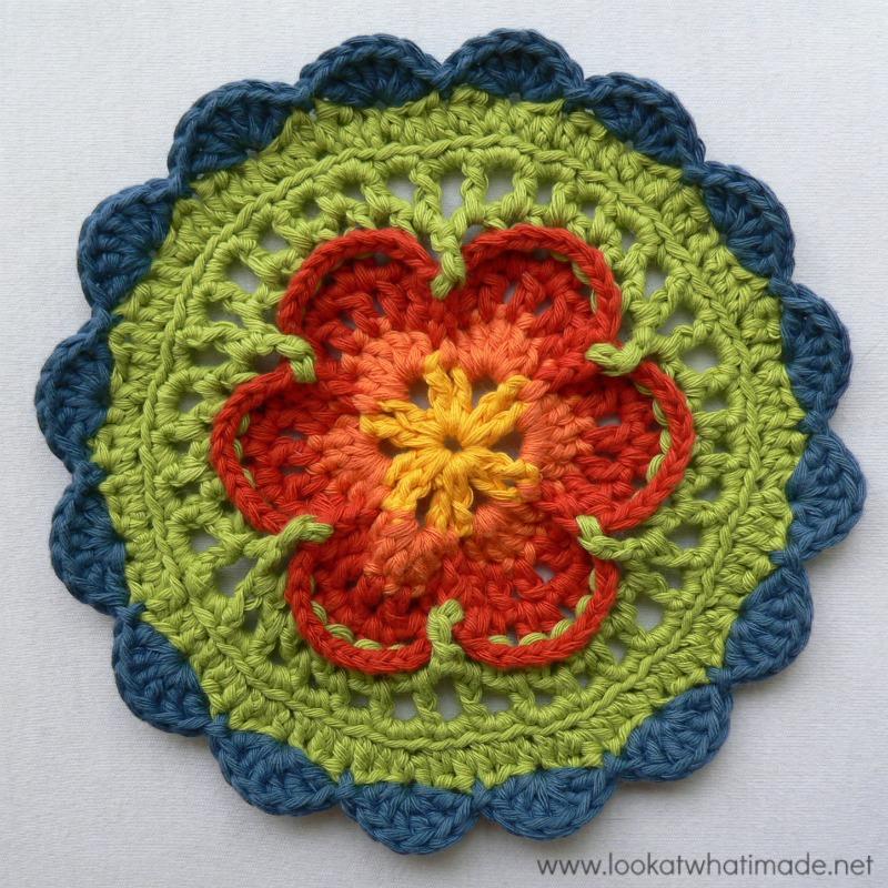 Sophie's Mandala Crochet Mandala