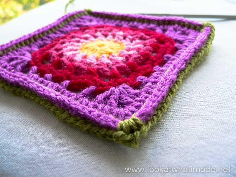 Crochet Cygnus Square