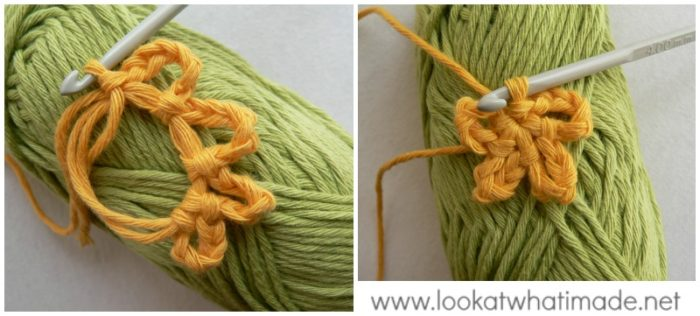 Embracing Variety Crochet Square Photo Tutorial