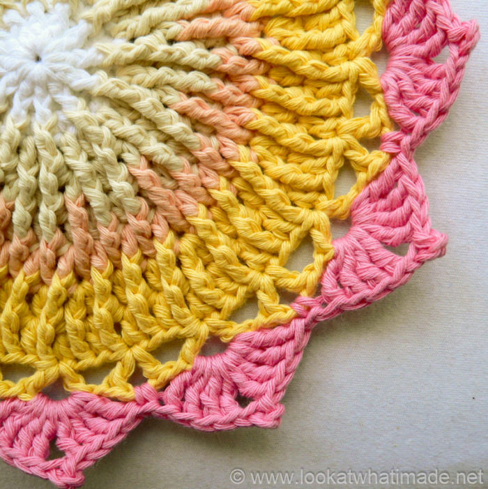 King Protea Mandala Crochet Mandala Pattern