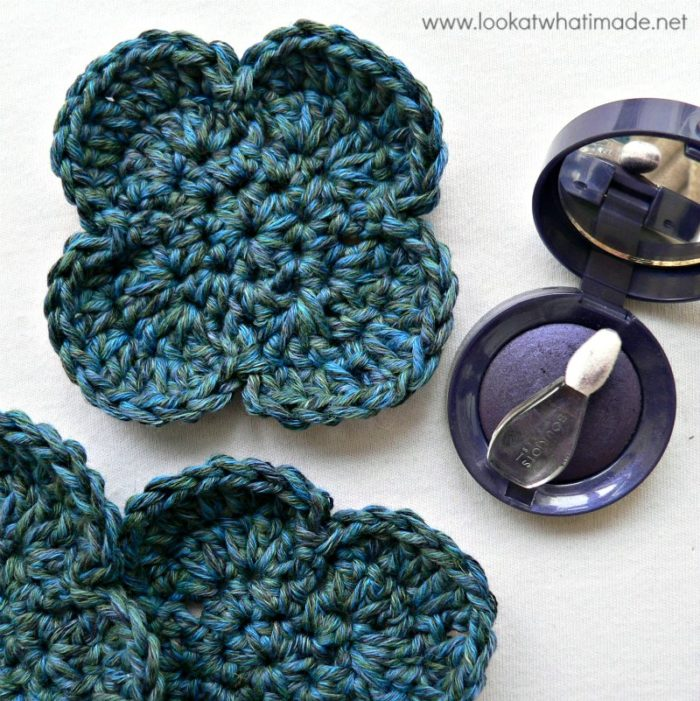 Crochet Face Scrubbie Flower