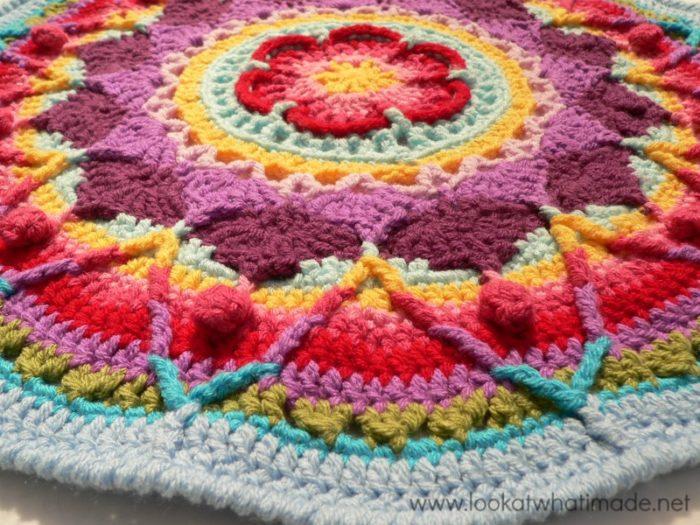 Crochet Popcorn Stitch Sophie's Garden