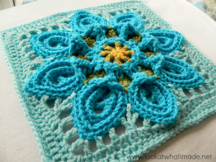 Purifying Puritans Crochet Square