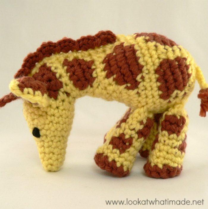 Free Crochet Giraffe Pattern