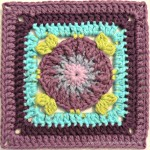 "Jack and Lydia 4"" Crochet Squares"