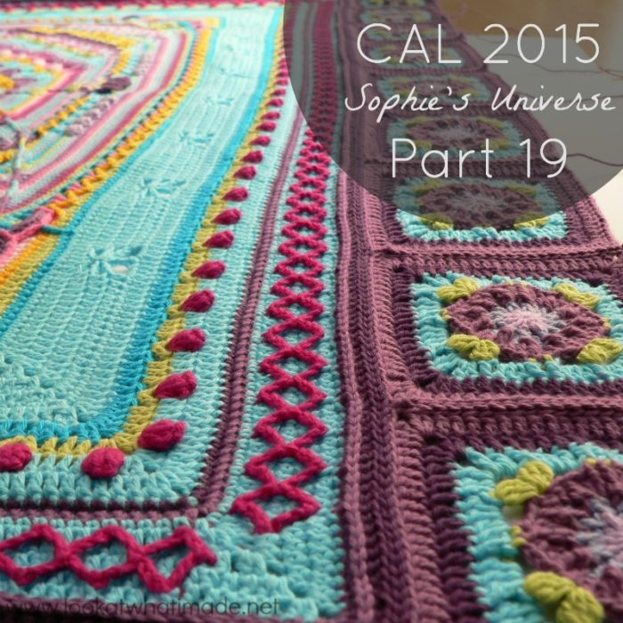 Sophie's Universe CAL 2015 Lookatwhatimade