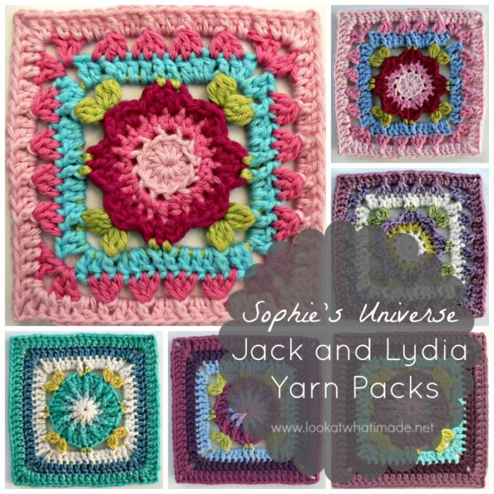 Jack and Lydia Yarn Packs Lookatwhatimade