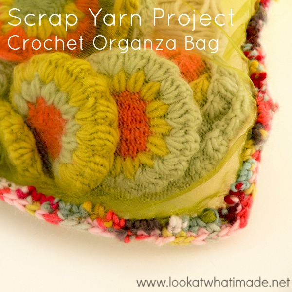 Crochet Organza Bag Using a Magic Ball