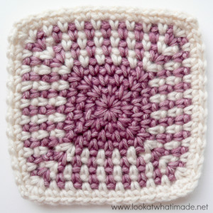 Regular Crochet Linen Stitch Squares