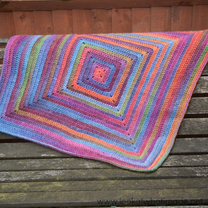Continuous Crochet Baby Blanket