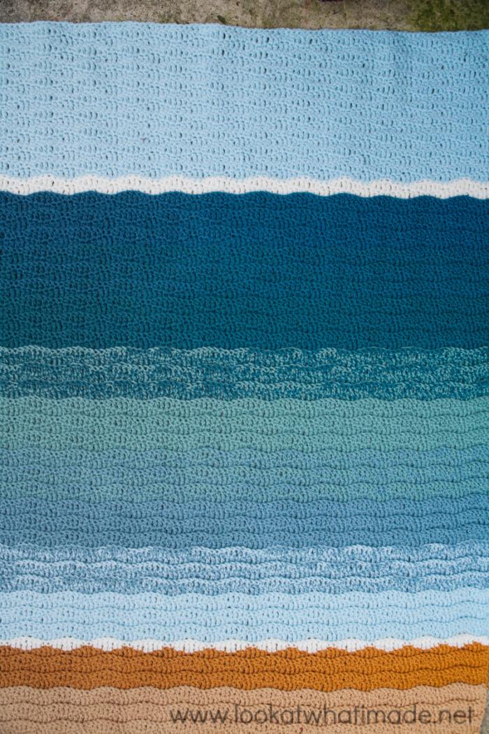 Summer in Swanage Pattern