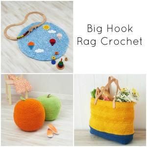 Blog Tour for Big Hook Rag Crochet by Dedri Uys