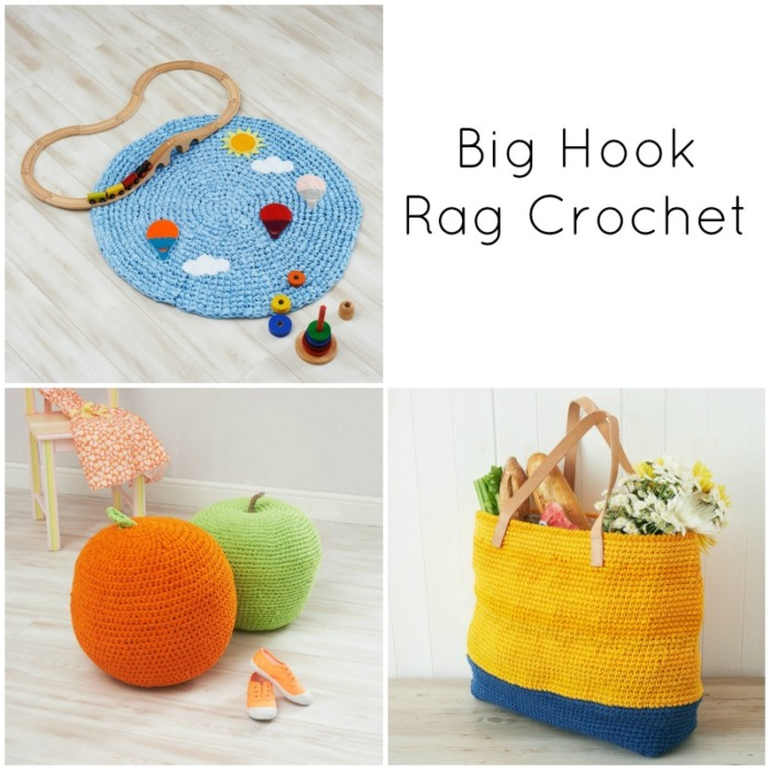 Blog Tour for Big Hook Rag Crochet by Dedri Uys