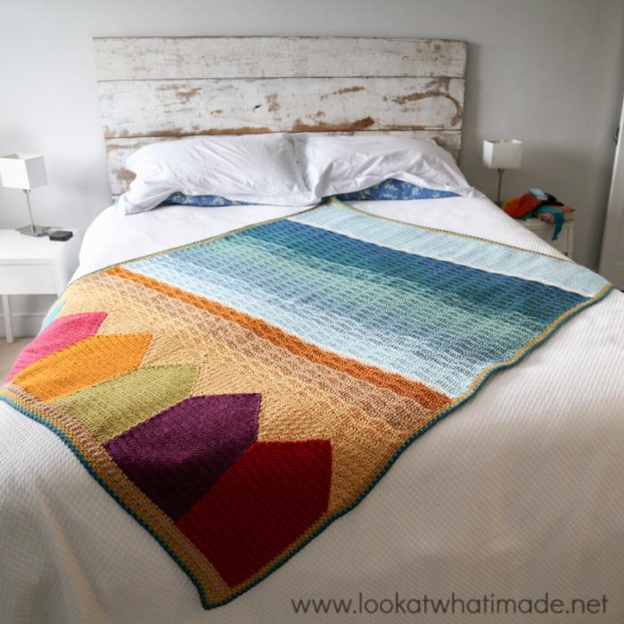Summer in Swanage Blanket