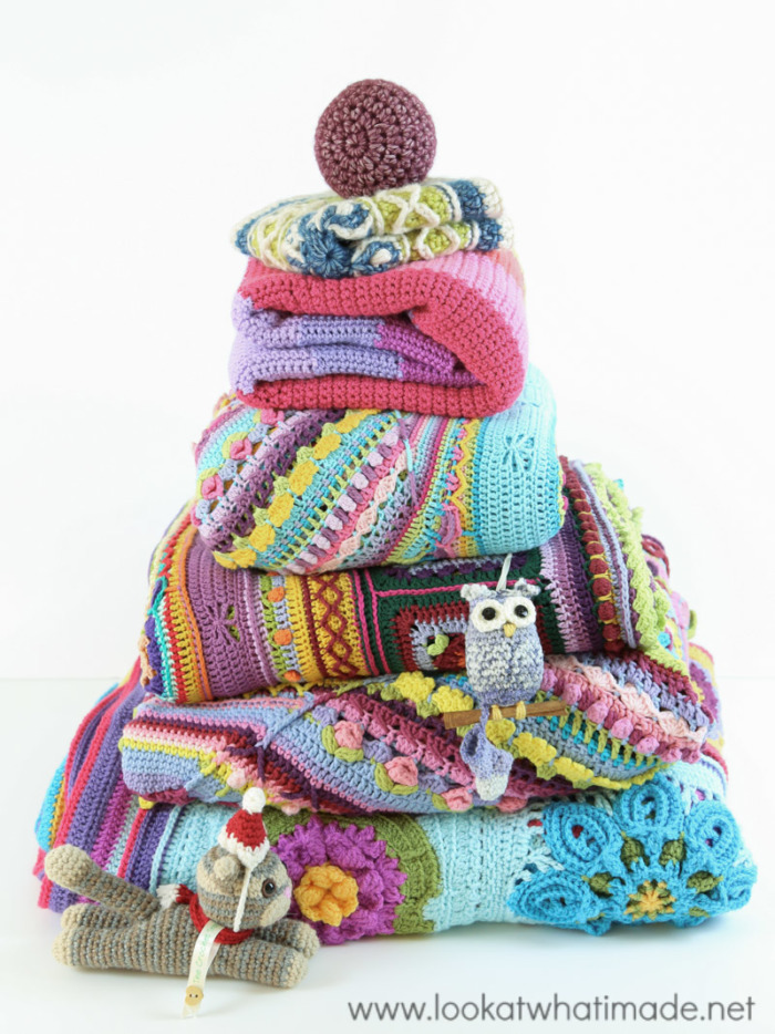 Crochet Christmas Tree Made From Crochet Blankets