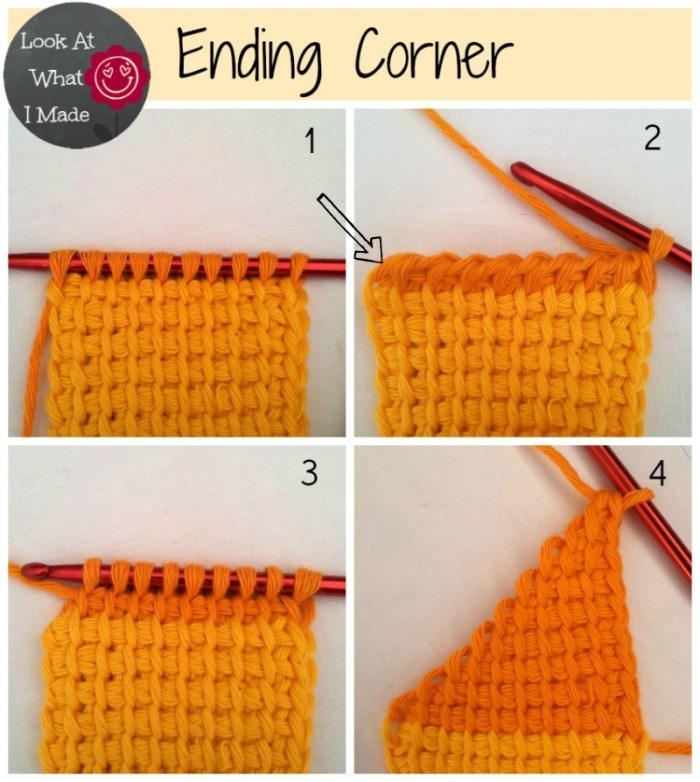 Tunisian Crochet Ten Stitch Blanket Pattern