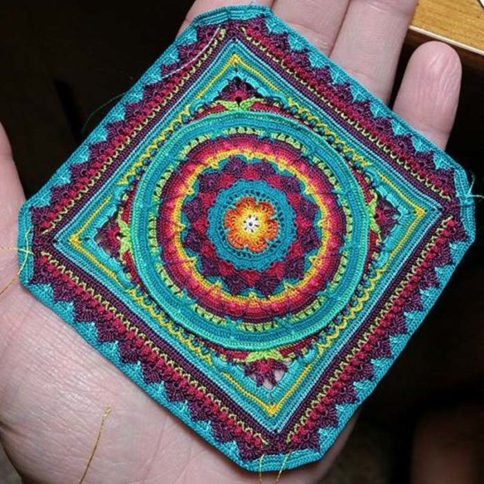 Micro Sophie's Universe Made With Sewing Thread