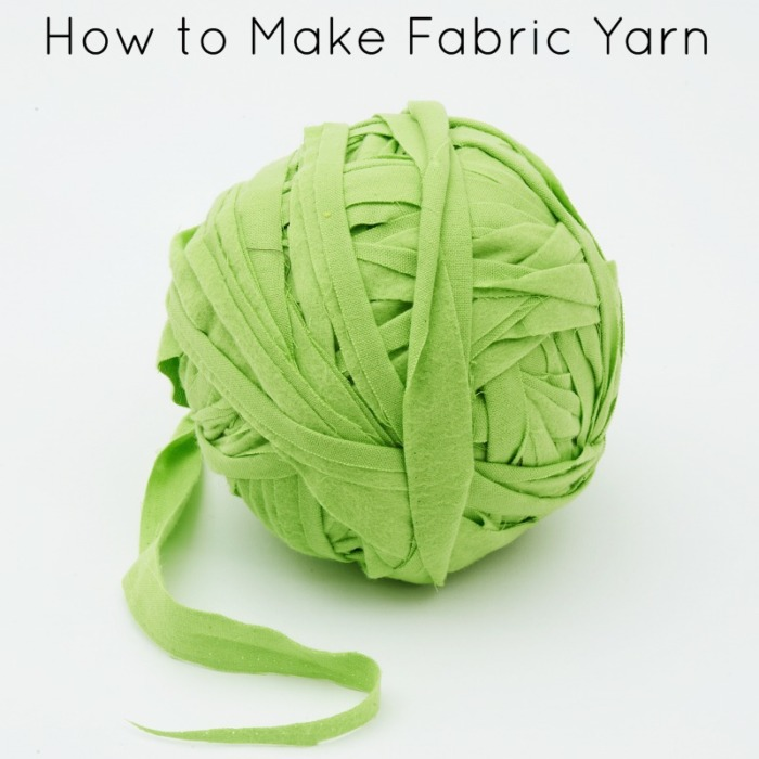 How to Make Fabric Yarn