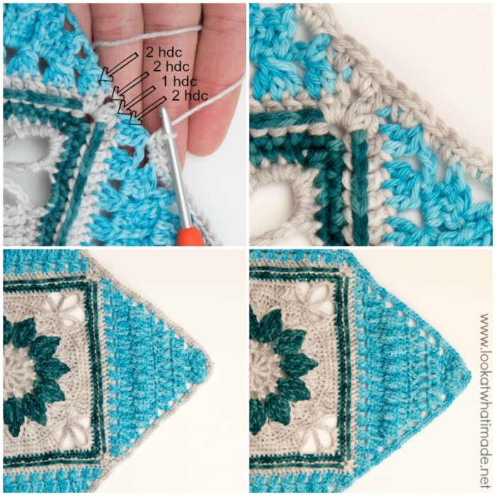 Charlotte Large Crochet Square Part 3