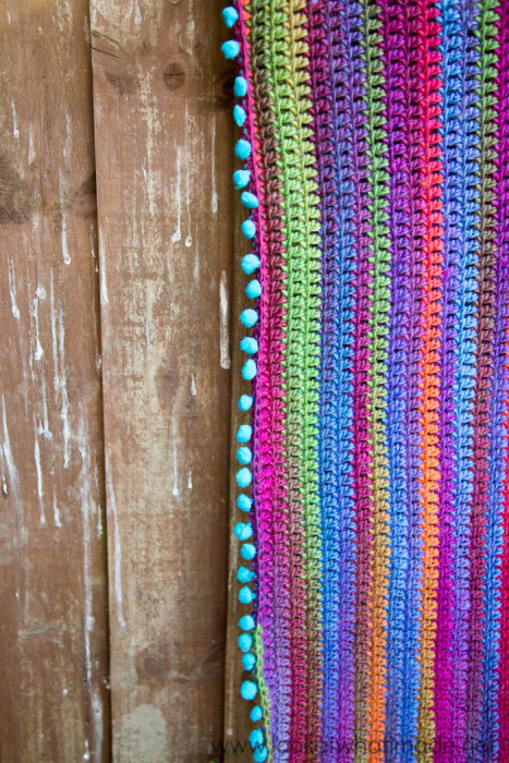 Joy's Journey Continuous Crochet Blanket
