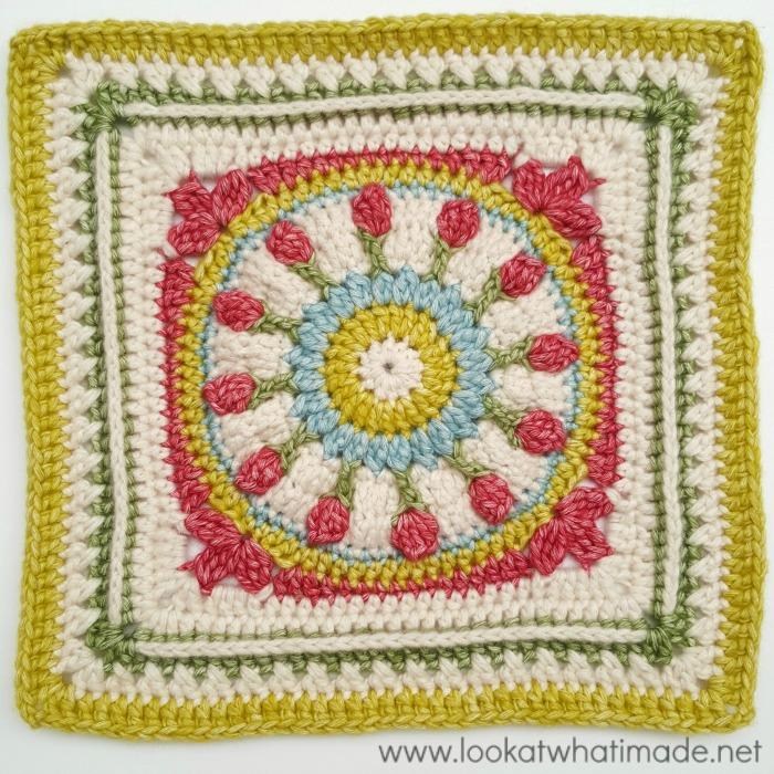 Wishing Well Crochet Square Moogly CAL 2016