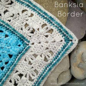 Banksia Border Crochet Pattern