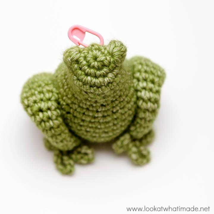 My Little Froggy Helper Hook and Needle Keep Pattern