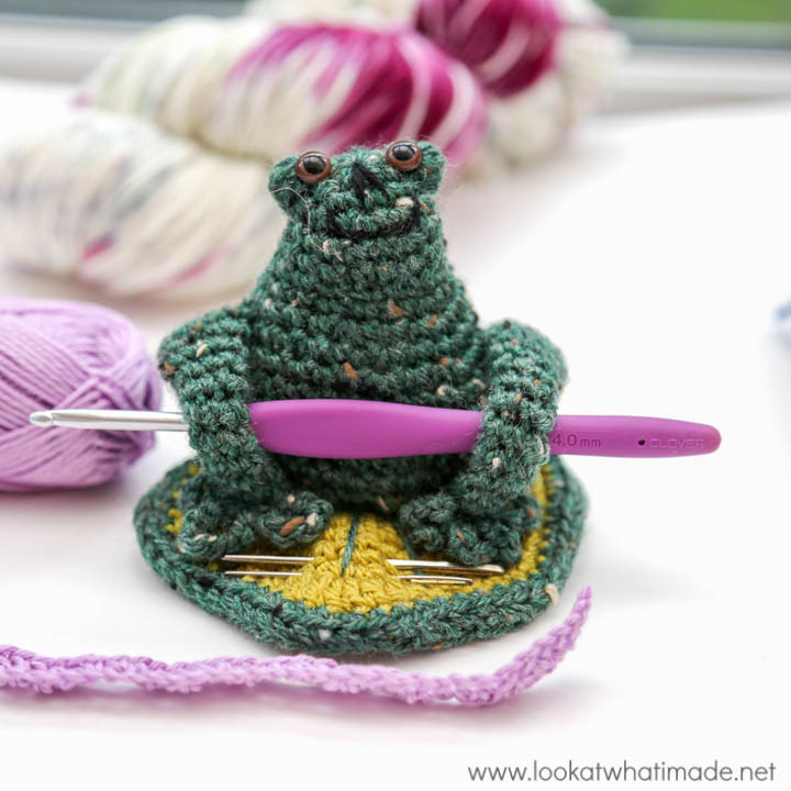 My Little Froggy Helper Hook and Needle Keep Pattern