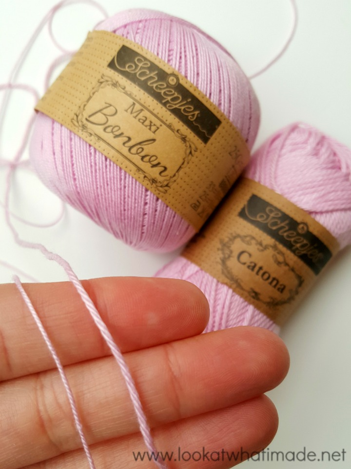 "Scheepjes /""Sweet Treat/"" Bonbon 100/% Cotton 25g Crochet Yarn"