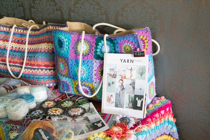 Be Inspired by Dedri Crochet Tour Johannesburg 2016