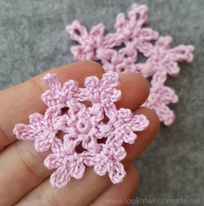 Floral Crochet Snowflake Pattern