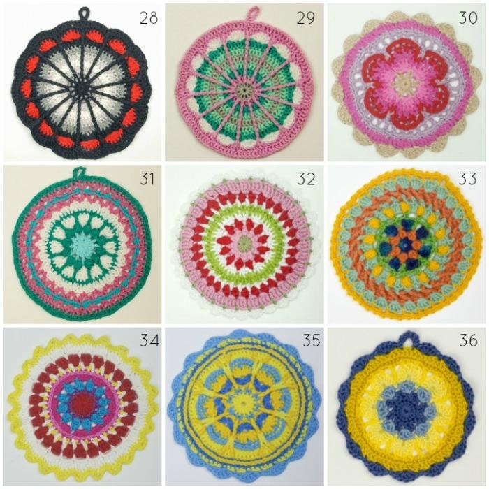 Crochet Mandala Wall