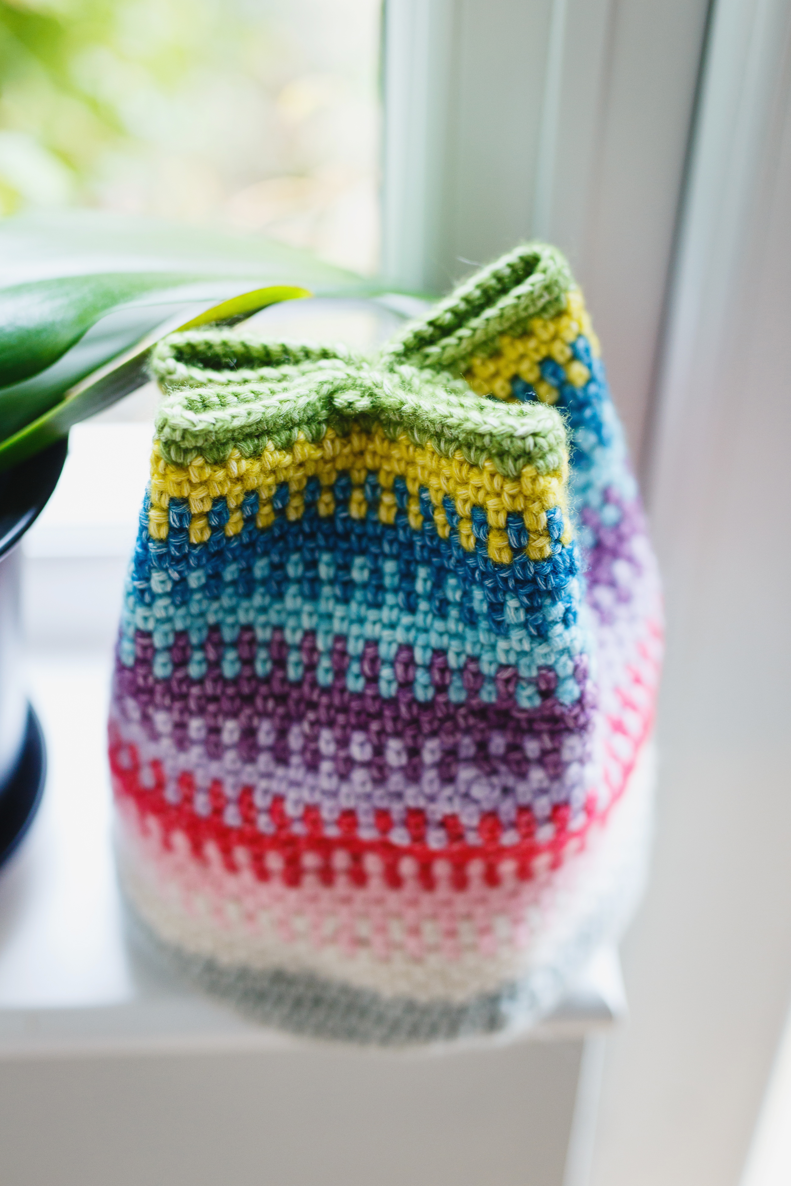 Crochet Storage Doorstop