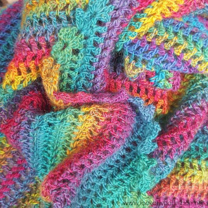 My Story Crochet Shawl Invicta Colour