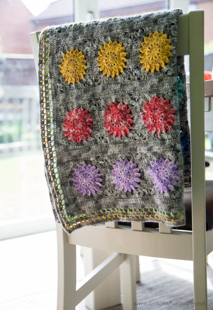 Crochet Blanket Spirit Yarn