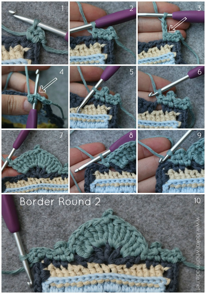 Memory Lane Blanket Crochet Pattern