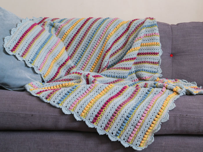 Memory Lane Crochet Blanket