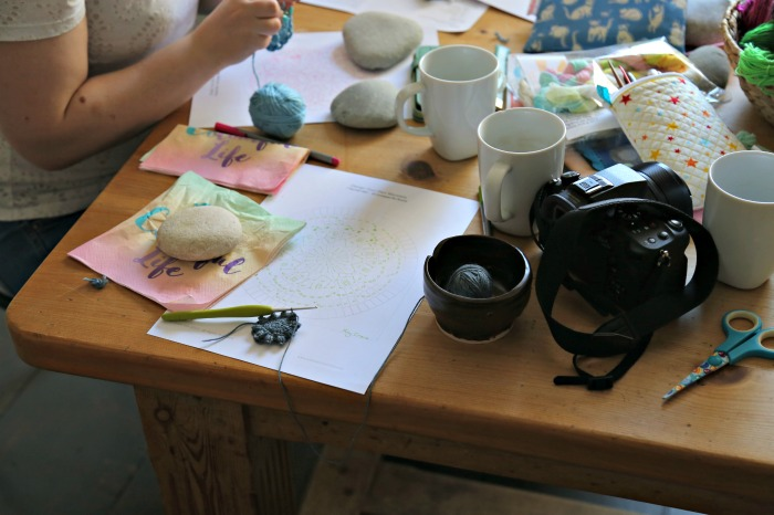 Devon Sun Yarns Retreat Lookatwhatimade June 2017