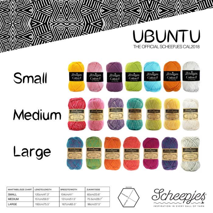 Ubuntu CAL 2018 Scheepjes Lookatwhatimade