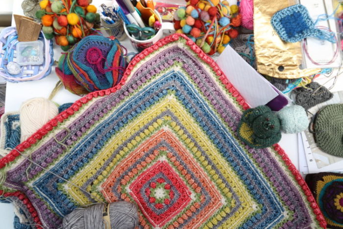 Messy Crochet Space