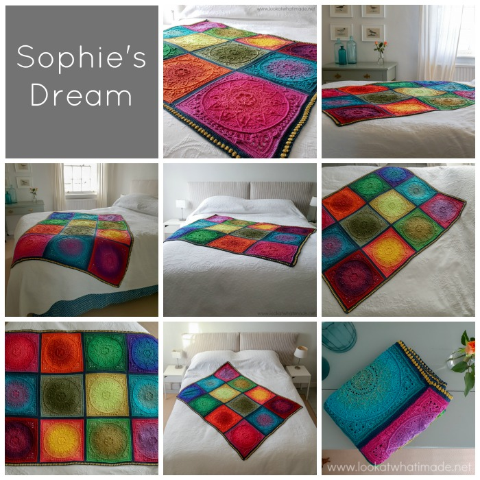 Sophie's Dream Blanket in Whirl Reveal
