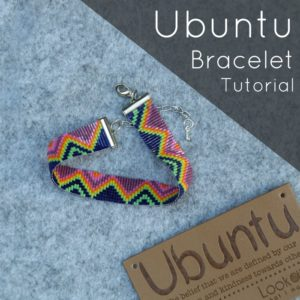 Beaded Ubuntu Friendship Bracelet