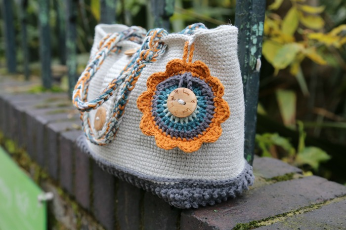 Textured Crochet Bag