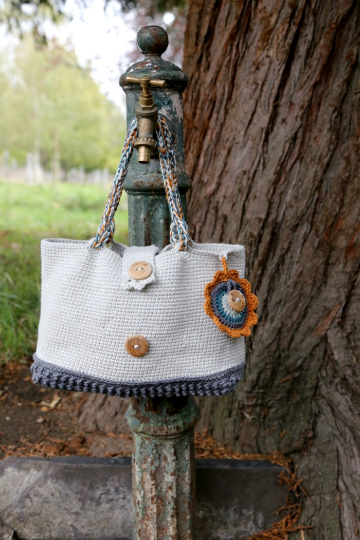Crochet project bag